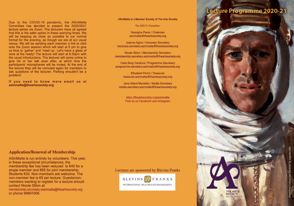 2020/21 Lecture Programme